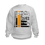 Original Muscle Car Orange Kids Sweatshirt