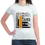 Original Muscle Car Orange Jr. Ringer T-Shirt