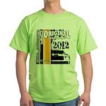 Original Muscle Car Orange Green T-Shirt
