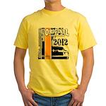 Original Muscle Car Orange Yellow T-Shirt