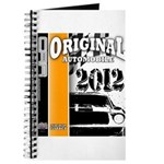 Original Muscle Car Orange Journal