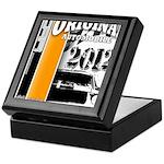 Original Muscle Car Orange Keepsake Box