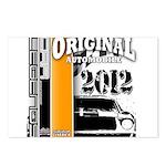 Original Muscle Car Orange Postcards (Package of 8