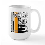 Original Muscle Car Orange Large Mug