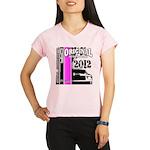 Original Muscle Car Pink Performance Dry T-Shirt