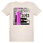 Original Muscle Car Pink Organic Kids T-Shirt