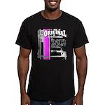 Original Muscle Car Pink Men's Fitted T-Shirt (dar