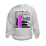 Original Muscle Car Pink Kids Sweatshirt
