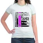 Original Muscle Car Pink Jr. Ringer T-Shirt