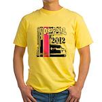 Original Muscle Car Pink Yellow T-Shirt