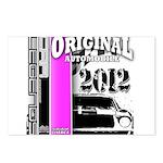 Original Muscle Car Pink Postcards (Package of 8)