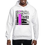 Original Muscle Car Pink Hooded Sweatshirt