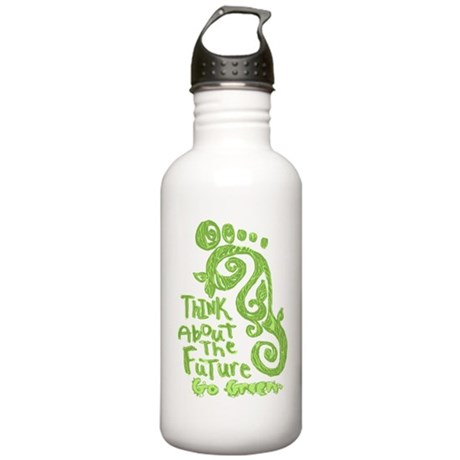 Green Footprint Stainless Water Bottle 1.0L