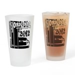 Original Muscle Car Black Drinking Glass