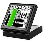 Original Muscle Car Green Keepsake Box