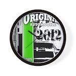 Original Muscle Car Green Wall Clock