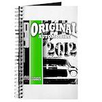 Original Muscle Car Green Journal