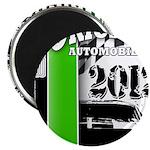 Original Muscle Car Green Magnet
