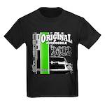Original Muscle Car Green Kids Dark T-Shirt
