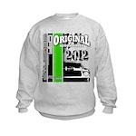 Original Muscle Car Green Kids Sweatshirt