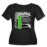 Original Muscle Car Green Women's Plus Size Scoop
