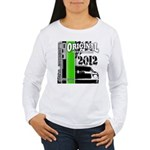 Original Muscle Car Green Women's Long Sleeve T-Sh