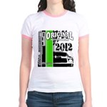 Original Muscle Car Green Jr. Ringer T-Shirt