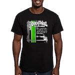Original Muscle Car Green Men's Fitted T-Shirt (da