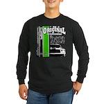 Original Muscle Car Green Long Sleeve Dark T-Shirt