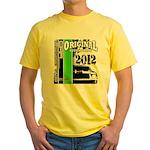 Original Muscle Car Green Yellow T-Shirt