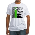 Original Muscle Car Green Fitted T-Shirt