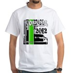Original Muscle Car Green White T-Shirt