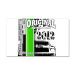 Original Muscle Car Green Car Magnet 20 x 12