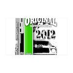 Original Muscle Car Green 38.5 x 24.5 Wall Peel