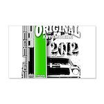 Original Muscle Car Green 22x14 Wall Peel