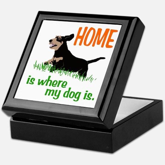 Home is where Keepsake Box