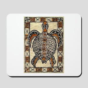 Tapa Turtle Mousepad