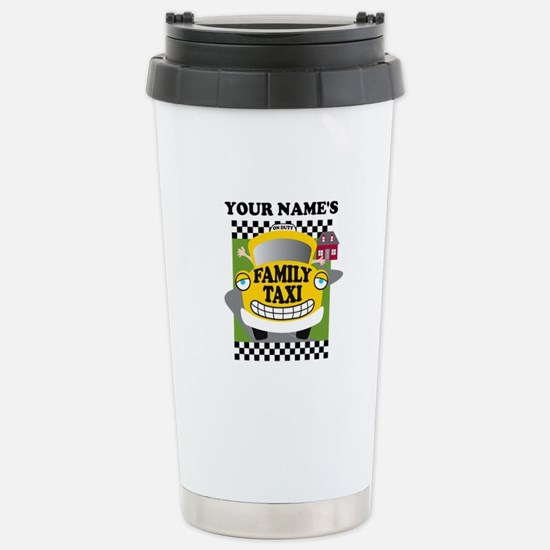 Personalized Family Taxi Stainless Steel Travel Mu