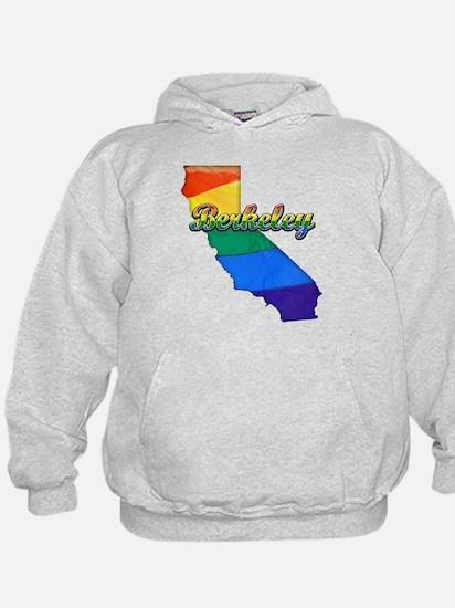 Berkeley, California. Gay Pride Hoodie