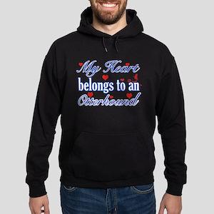 Otterhound Dog Designs Hoodie (dark)