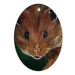 Churchmouse Oval Ornament