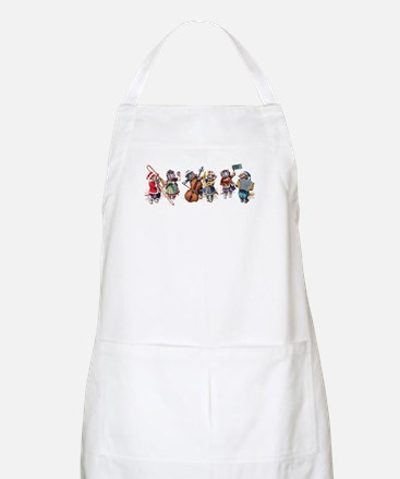 Jazz Cats In the Snow Apron