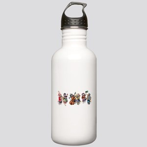 Jazz Cats In the Snow Stainless Water Bottle 1.0L