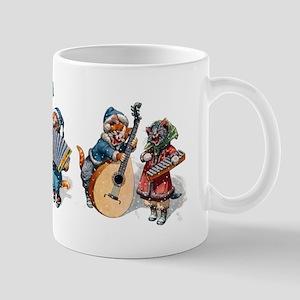 Jazz Cats In the Snow Mug