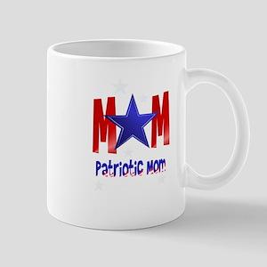 A Patriotic Blue Star Mom Mug