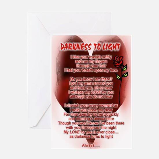 Cute Love letters Greeting Card