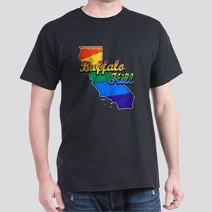 Buffalo Hill, California. Gay Pride Dark T-Shirt