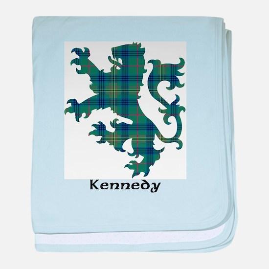 Lion - Kennedy baby blanket
