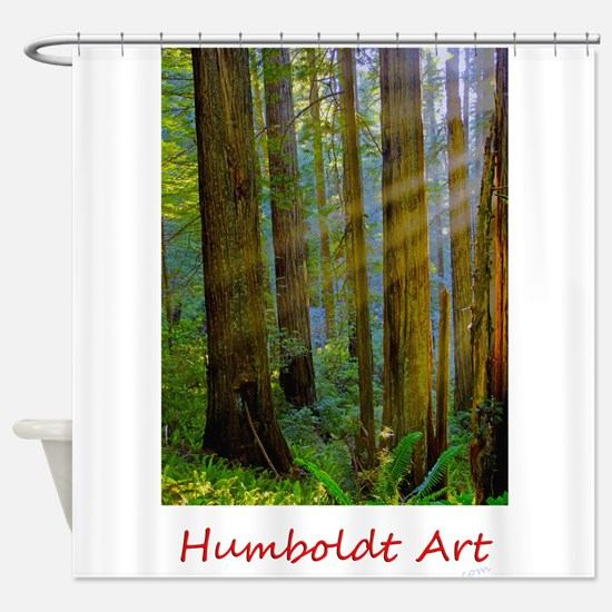 Cute County Shower Curtain