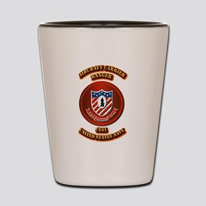 US - NAVY - AC - Ranger - CV61 Shot Glass
